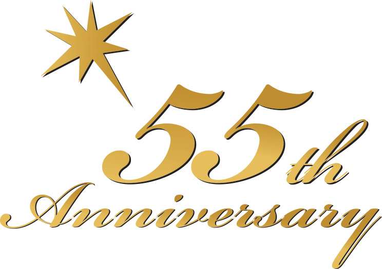 Celebrating 55 Years Of Business